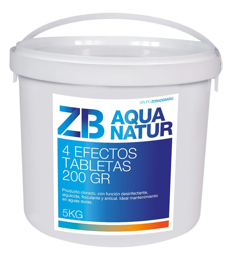 Cloro 4 efectos tabletas 200g
