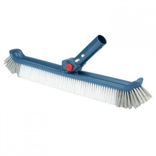 Cepillo Blue Line con mango ajustable y cerdas de plástico