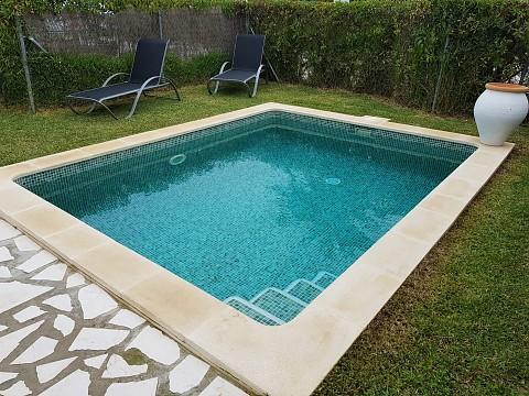 Construcción de piscina en Jávea