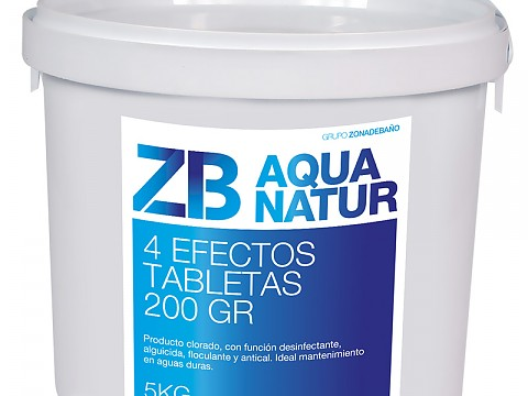 Chlorine 4 effects tablets 200g