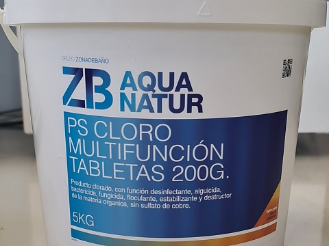 Multifunction chlorine tablets 200g