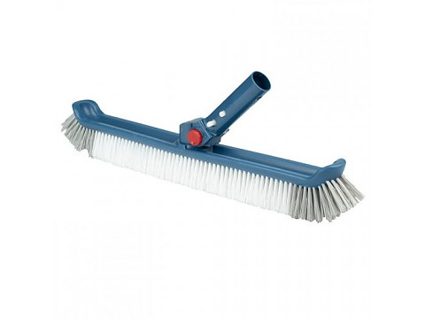 Blue Line brush with adjustable handle and plastic bristles